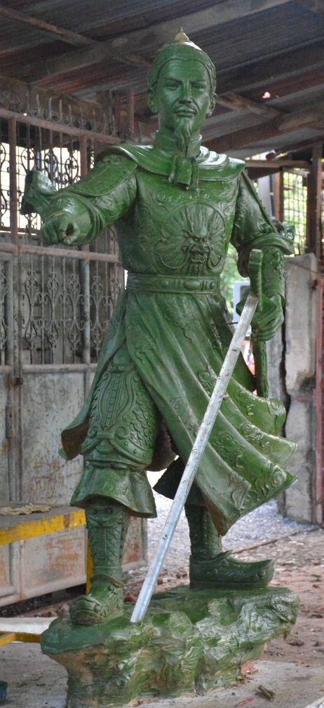 Pin On General Tran Hung Dao Custom Bronze 8 Foot Tall
