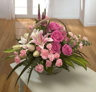 Flowers Online Reviews Uk In 2020 Fresh Flowers Arrangements Basket Flower Arrangements Floral Arrangements