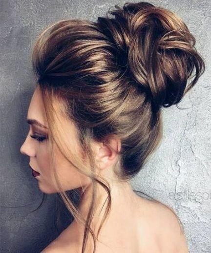 Best Hair Styles Wedding Guest Black Hair 29 Ideas Hair Styles Bun Hairstyles For Long Hair Long Hair Styles