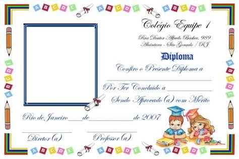 Diplomas infantiles de graduación - Imagui