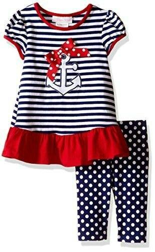 Bonnie Baby Baby Girls Two Piece Knit Playwear Set