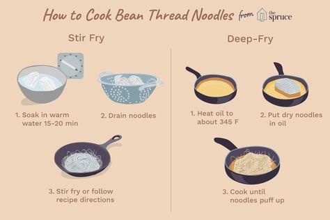 How To Cook Bean Thread Noodles Makaron