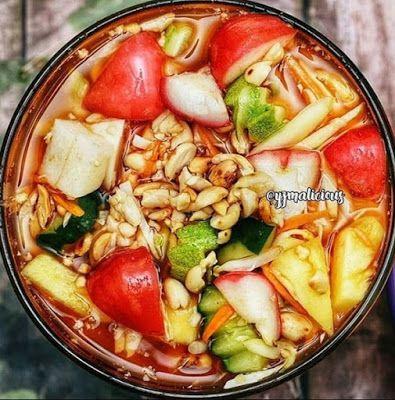 Rujak Cuka Resep Masakan Resep Masakan Indonesia Masakan Simpel