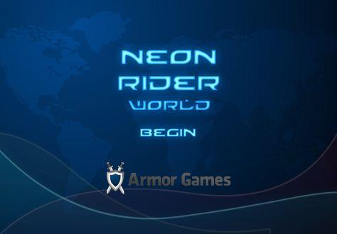 best games unblocked neon rider