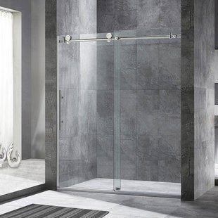 Dreamline Encore 56 60 X 58 Bypass Semi Frameless Tub Door With Clearmax Technology Way Shower Doors Sliding Shower Door Frameless Sliding Shower Doors