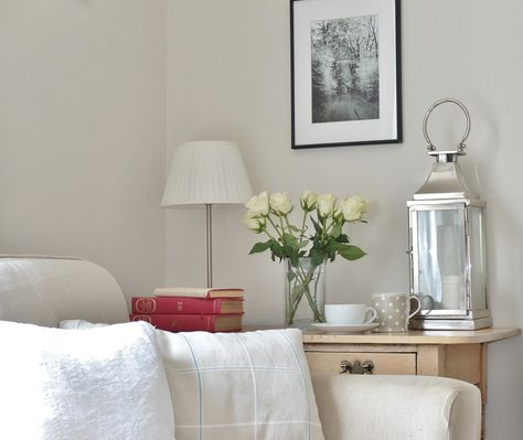 Wall colour is Putty by Home of Colour - Homebase own Love this - deko ideen f amp uuml r wohnzimmer
