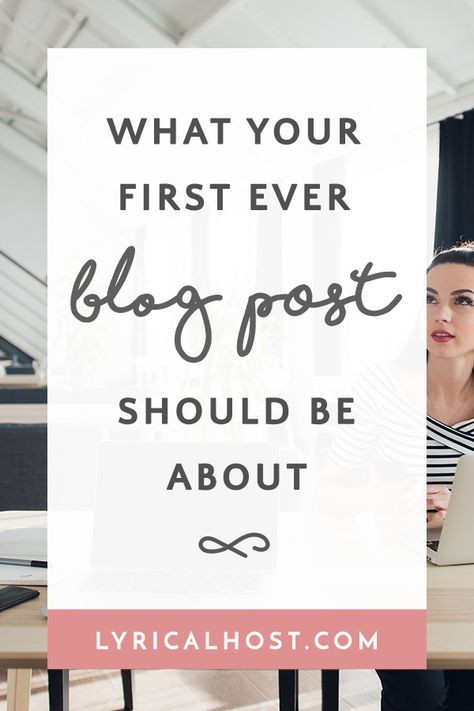 Blogging 101: