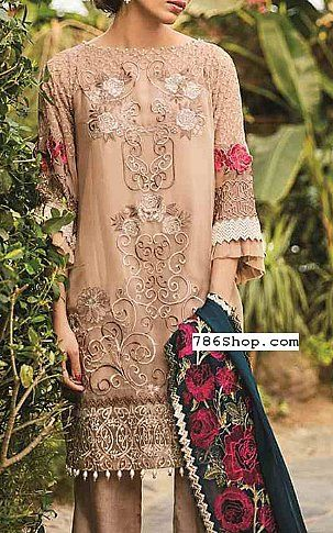 c7239d790b Beige Chiffon Suit   Buy Coir Pakistani Dresses and Clothing online in USA,  UK