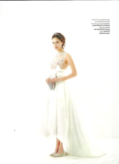 White Wedding - January '15 Made Bride by Antonea wedding dress