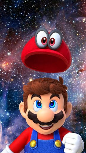 Super Mario Odyssey Wallpaper Desenhos Do Mario Mario Art
