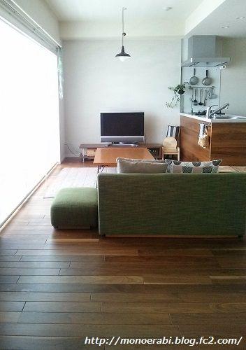 横長ldk 我が家のベストバランス決定 ソファ 配置 インテリアアイデア リビング キッチン