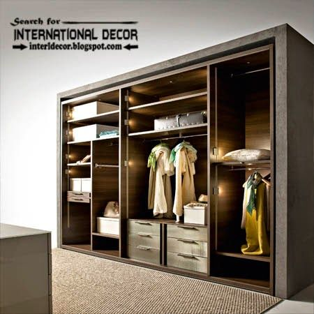 Latest wardrobe systems with lighting ideas closet designs for dressing room