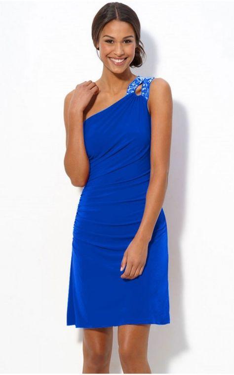 competitive price 33530 70ba9 abito blu elettrico - Cerca con Google   Blue   Abiti blu ...