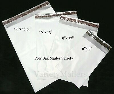 Details About 60 Poly Bag Mailer Variety Pack 12x15 5 10x13 9x12 6x9 2 5 Mil Quality In 2020 Poly Bags Poly Mailers Shipping Envelopes
