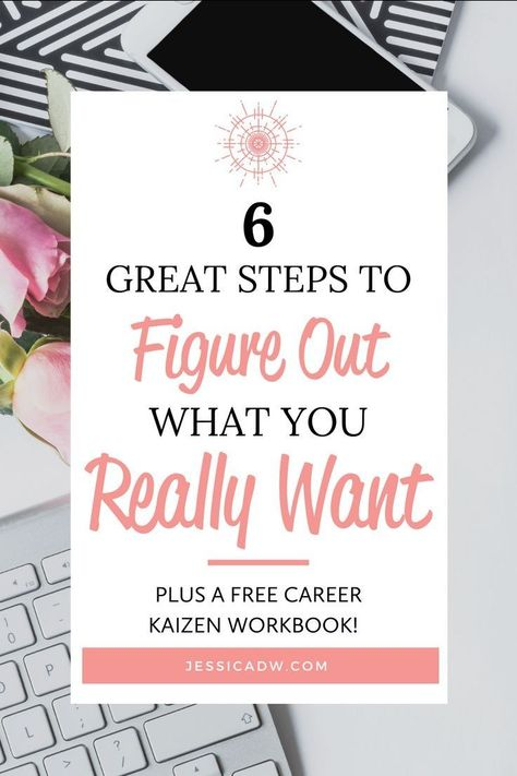 6 Great steps to Figure out what you really want