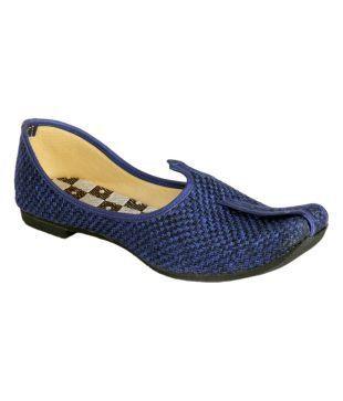 panahi black ethnic shoes