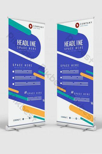 Vertical Banner Design Signboard Advertising Brochure Flyer Template Vector X Banner Gips