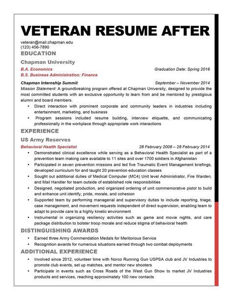 Free Resume Templates For Veterans 3-Free Resume Templates