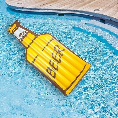Inflatable Giant Beer Pool Float Beer In The Pool Party Relaxing Blow Up Pool Toys Inflatable Pool Floats Giant Pool Floats