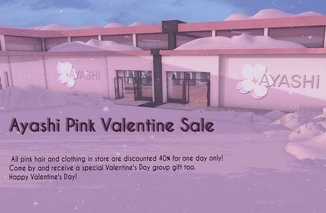 Ayashi Pink Valentine Sale | Flickr - Photo Sharing!