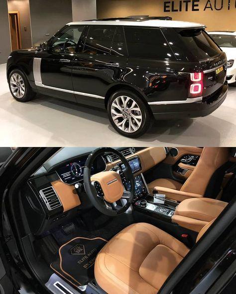 New Luxury Cars, Luxury Car Brands, Luxury Suv, Range Rover Noir, Range Rover Schwarz, Range Rover Evoque, Range Rover Vogue Autobiography, Range Rover Sport Black, Toyota Fj Cruiser