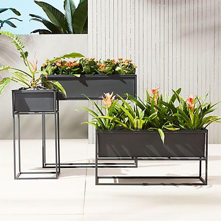 Kronos Low Planter Outdoor Planters