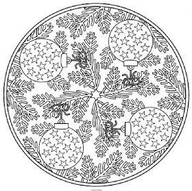 Los Mandalas Mandalas De Navidad Mandalas De Navidad Mandalas