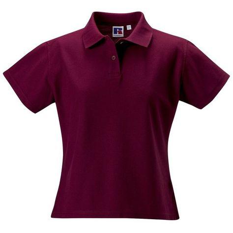 Russell Damen Polo Shirt Europe Klassik Kurzarm