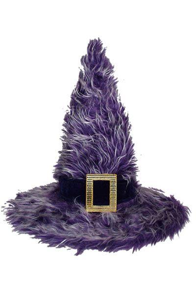 Chapeau hexenhut avec plumes Miniature HALLOWEEN CARNAVAL CHAPEAUX