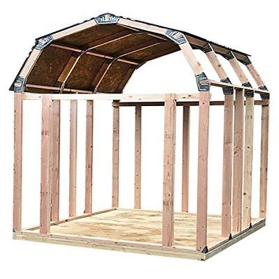 Ez Shed 70188 Barn Style Instant Framing Kit Barn Style Shed Shed Frame Simple Shed