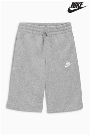 Grey Nike Fleece Short | Nike fleece, Fleece shorts, Nike ...