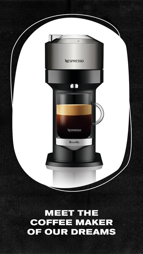 This Nespresso machine makes the perfect wedding gift. #ad