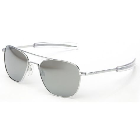 0585885e39ea These Randolph aviator sunglasses feature the popular bayonet frame in a  Matte Chrome finish with the Grey Flash Mirror lens available in 3 ...