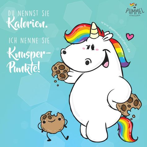 Who counts crunchy points? www.pummeleinhorn.de #pummeleinhorn #chubbyunico ...   - Spaßbild - #chubbyunico #counts #crunchy #points #pummeleinhorn #Spaßbild #wwwpummeleinhornde