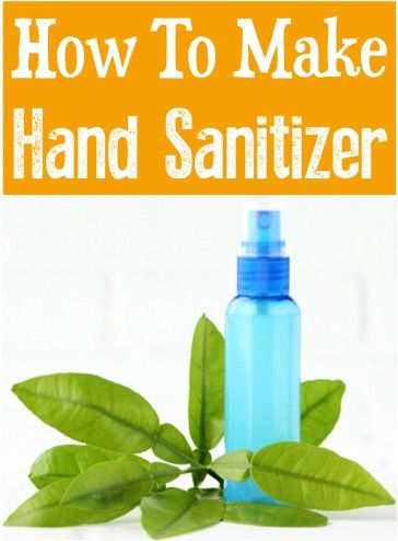 Homemade Hand Sanitizer Vodka Witch Hazel And Essential Oil