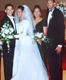 Obama And Michelle Wedding Pictures