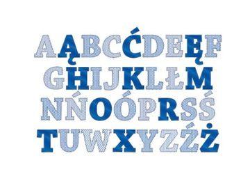 Alfabet Na Sciane Dla Dzieci 100x65 Cm Tech Company Logos Company Logo Ibm Logo