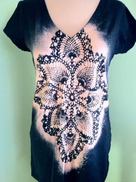 Love this t-shirt!!!!! Original KAK Design Handmade Bleached TShirt. by TheLuvofVintage, $25.00