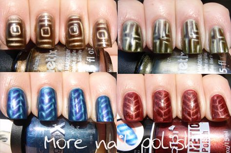 How to make your own nail art magnets!