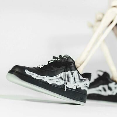 eBay Sponsored) Nike Air Force 1 07 Skeleton QS Black