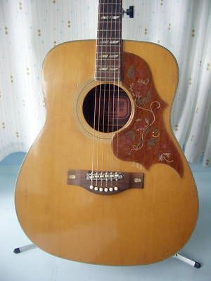 Vintage Yamaha Fg 300 Red Label Acoustic Guitar A Late 1960 Or Early 1970 S Yamaha Fg 300 Dreadnaught Acoustic Guitar Th Yamaha Guitar Acoustic Guitar Guitar