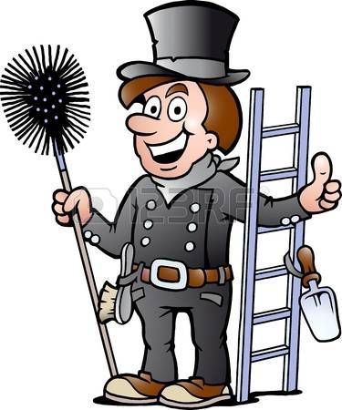 Hand Drawn Vector Illustration Of An Happy Chimney Sweep How To Draw Hands Snowman Coloring Pages Chimney Sweep