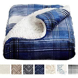 Home Fashion Designs Premium Reversible Sherpa And Sculpted Velvet Plush Luxury Blanket Fuzzy Soft Warm Ber Plaid Throw Blanket Throw Blanket Luxury Blanket