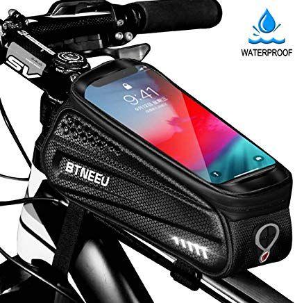 Btneeu Fahrrad Rahmentasche Wasserdicht Mit Tpu Touchscreen