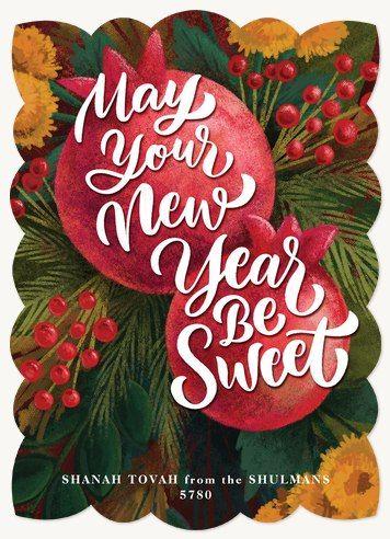 Be Sweet Rosh Hashanah Cards Jewish Holiday Cards New Year Cards Handmade