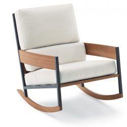 Roda Nap082 Rockingchair Modern Outdoor Lounge Chair Contemporary Outdoor Lounge Chairs Lounge Chair Outdoor