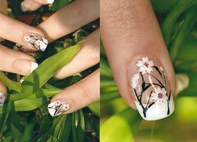 and ready for spring Nails Nails .Cute nails I want nails like these!