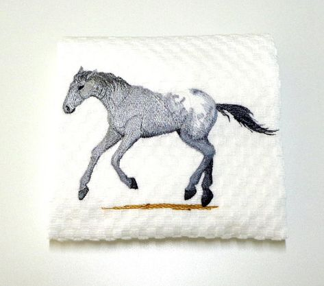 "Appaloosa Horse, Appaloosa Gift, Horse Lover Gift, Horse Owner , Kitchen Towel, Appaloosa Decor, Ranch Decor, Birthday, Hostess ""Appaloosa"""