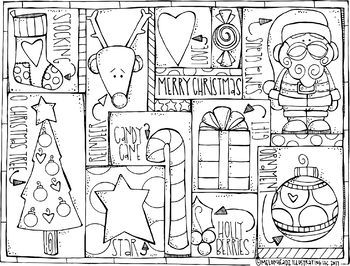 Free Christmas Coloring Page By Melonheadz Free Christmas Coloring Pages Christmas Coloring Pages Christmas Cards Drawing