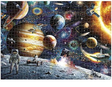 Famous Painting 1000 Pieces Puzzle